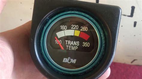 derale trans cooler b m trans temp