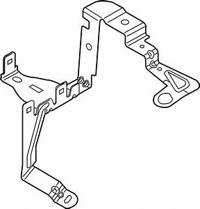 Ford Fusion Bracket  Cover Mount  Fuse Box  Junction Block