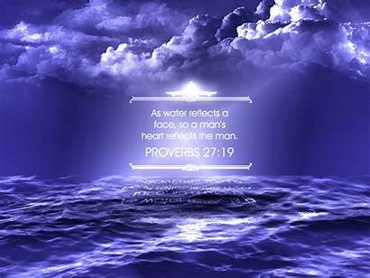 Proverbs 27 God Faithful Quotes Religious Water