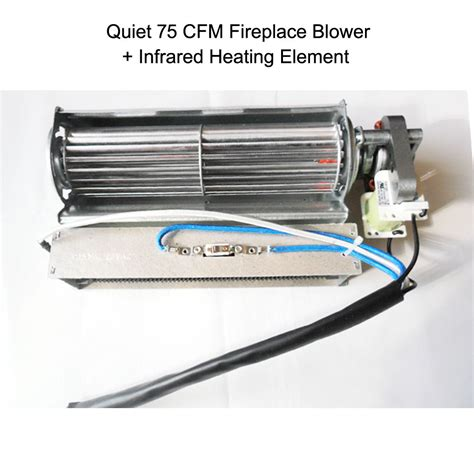 fireplace heater blower electric fireplace blower fan infrared heating element for