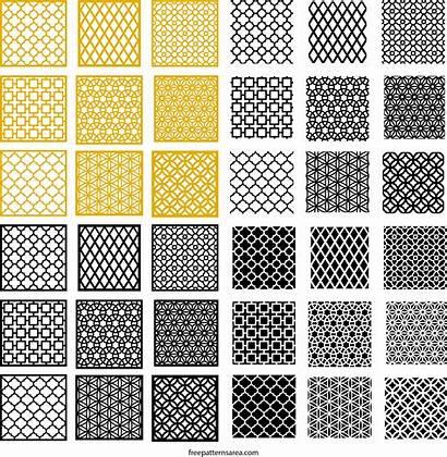 Pattern Autocad Geometric Cnc Repeating Pdf Motifs