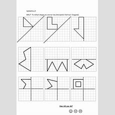 Reflective Symmetry Worksheets By Callen5  Teaching Resources Tes