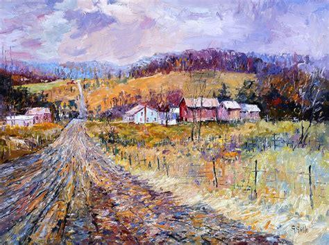 25+ Best Ideas About Famous Landscape Paintings On