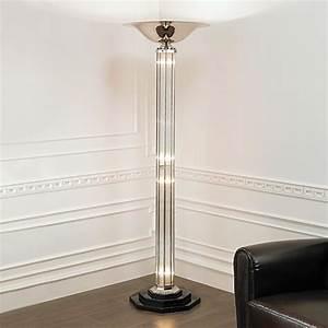 Lampadaire Art Deco : lampadaire deco ~ Teatrodelosmanantiales.com Idées de Décoration