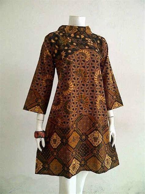 model baju kerja batik   model desain blus