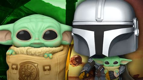 Star Wars Reveals 3 New Funko Pops! for The Mandalorian ...