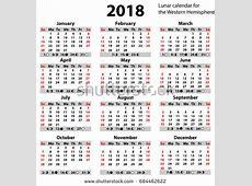 Chinese Lunar Calendar 2018 printable 2018 calendars