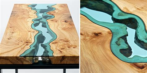 glass rivers  lakes flow  beautiful tables