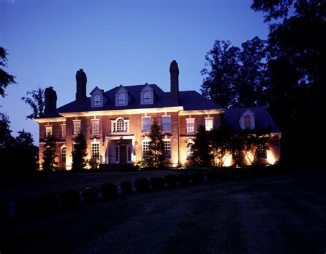 architectural outdoor facade lighting nashville tn