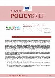 Towards Youth-inclusive Policies in the Mediterranean (1 ...