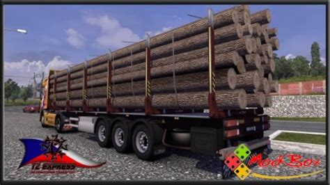 Boat Trailers Direct Complaints by Ets 2 Boat And Trailer Fliegl Wood Trailer V 1 0 Skins