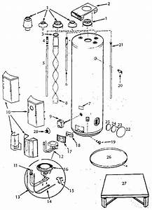 Hot Water Heater Parts Diagram