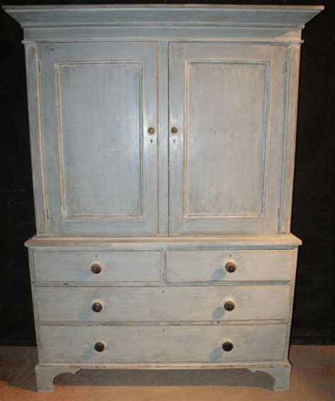 Painted Cupboard by Painted Linen Cupboard Antique Cupboards