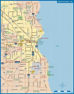 Milwaukee Metro Map | Digital Vector | Creative Force
