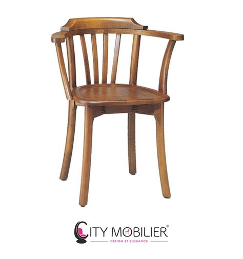 chaise pour restaurant chaise à barreaux en bois barjavel city mobilier