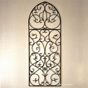 wrought iron wall decor ideas for goodly wrought iron wall With metal wall decor
