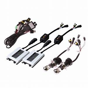 Canbus 55watt 35w Ac Hid Headlight Kit 12v 24v 6000k Super