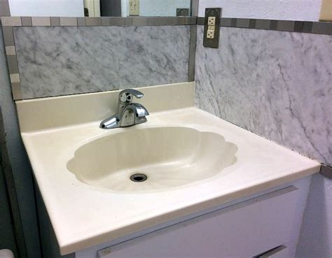 concrete bathroom sink diy how to make a concrete countertop or vanity with integral