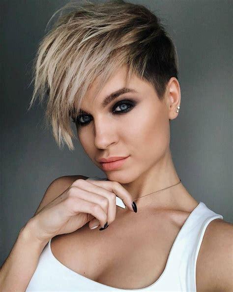 short hairstyles  thick hair  fashion