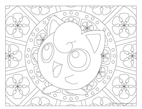 Jiggly Puff Kleurplaat by Free Printable Coloring Page Jigglypuff Visit Our
