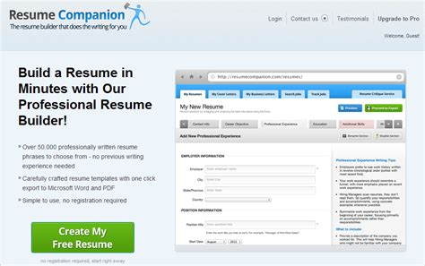 Websites For Creating Resumes by Black Top 5 To Create Resume