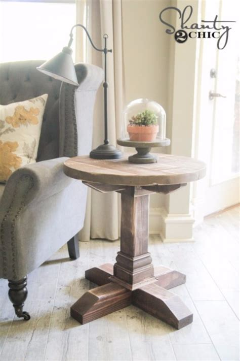 Bedroom End Tables Plans by 31 Diy End Tables
