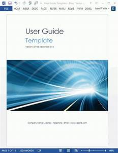 User Guide Templates  5 X Ms Word