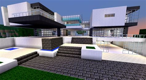 Großes Modernes Haus by Modern House Bundle 9 Structures Minecraft Project