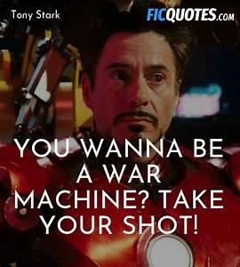Tony Stark Quot... Rhodey Quotes