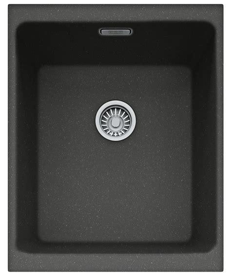 franke black kitchen sinks franke kubus kbg 110 34 fragranite onyx 1 0 bowl 3518