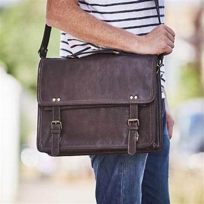 Bag Messenger Leather Briefcase Range Bags Laptop
