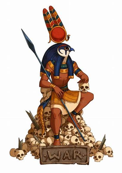 Montu Egyptian Ancient Deviantart God Thoth Gods