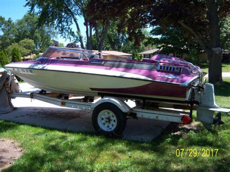 glastron carlson cv16 v8 rare boat rare color no reserve glastron 1975 for sale