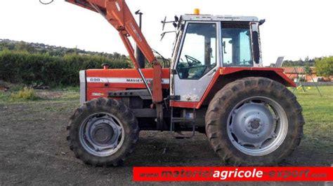 siege tracteur agricole occasion vendu massey ferguson 698 chargeur tracteur