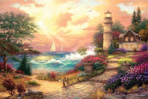 seaside dreams  pieces sunsout puzzle warehouse