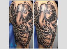 Tatouage Femme Ange Demon Tattooart Hd