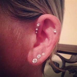 9 best Ear piercings: daith, rook, triple forward helix ...