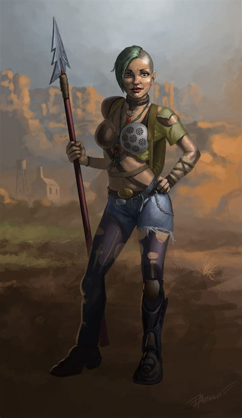 Fallout Art Scavenger By Egormotygin On Deviantart