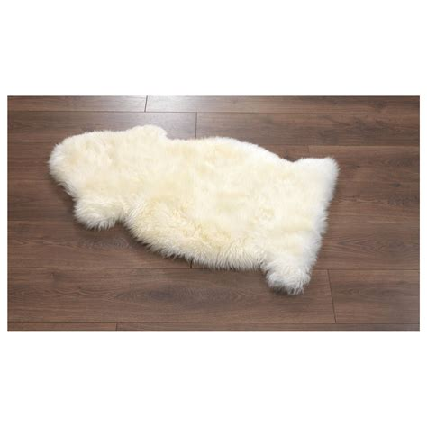 Bowron Sheepskin Rug Ivory  Thousands Of Rugs For Your Home