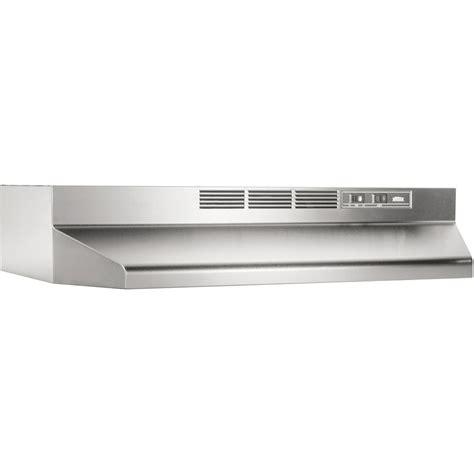 broan cabinet range broan 413604 36 quot non ducted range