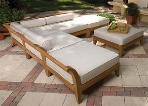outdoor wood sectional sofa thebestwoodfurniturecom With make outdoor sectional sofa