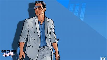 Archer Vice Wallpapers Sterling Gta Grease Lana