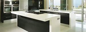 Plan De Travail Marbre Noir : plan granit marbre quartz cuisine salle de bain ~ Dailycaller-alerts.com Idées de Décoration