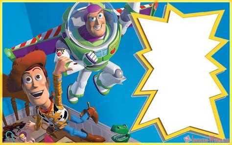 toy story invitations   coolest invitation