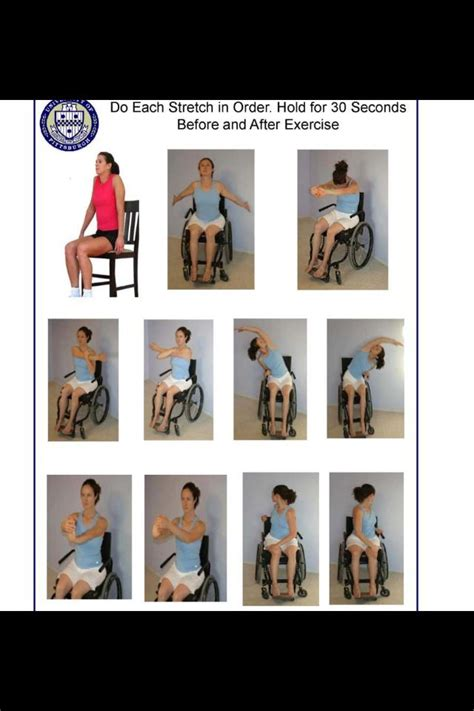 wheelchair exercises staying healthy
