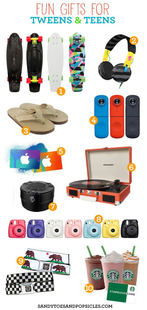 Gift And Birthday Party Ideas For A Tween And Teens