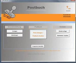 Zeitraum Berechnen Excel : postbuch freeware b rozubeh r ~ Themetempest.com Abrechnung
