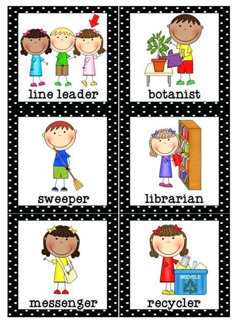 how to get a job at a preschool classroom helper chart free preschool clip 133