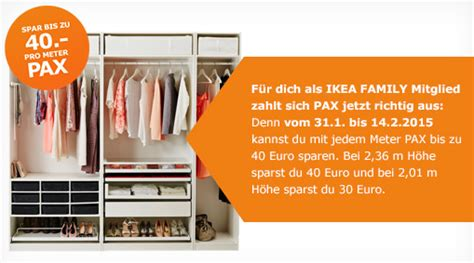 Pax Aktion Ikea by Pax Guraca Gutscheine Rabatte Und Cashback