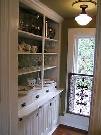 butler s pantry vignette design: The Butler's Pantry